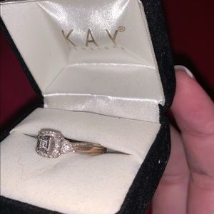 Kay's Engagement ring!